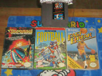 Boxed Nes/Sega Games/Cleaned/Tested/Old Skool Gamers