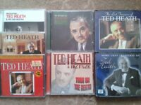 A collection of CDs by the band leader Ted Heath