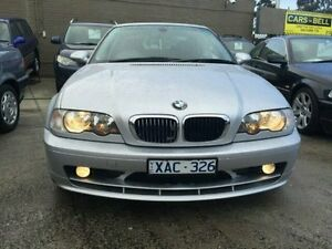 2002 BMW 320CI E46 Platinum Silver Metallic 5 Speed Auto Steptronic Coupe Dandenong Greater Dandenong Preview
