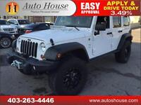 2013 Jeep Wrangler Unlimited MOAB EDITION 6 SPEED MANUAL