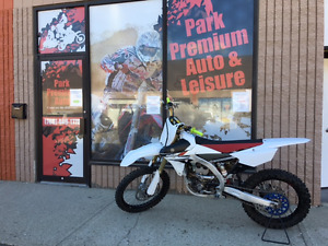 2014 YAMAHA YZ 250Fdirt bike, low hours for only $69 bi-weekly!!