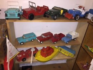 downsizing old toy collection 1950s/1960s vintage toys