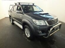 2012 Toyota Hilux KUN26R MY12 SR5 (4x4) Charcoal 4 Speed Automatic Dual Cab Pick-up Clemton Park Canterbury Area Preview