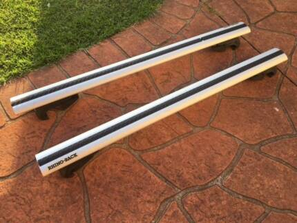 Rhino-Rack Vortex SX Silver 2 Bar Roof Rack