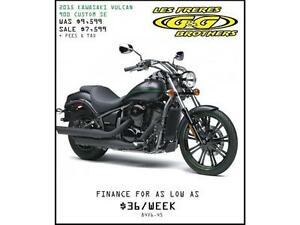 NEW 2015 KAWASAKI 900 CUSTOM SE REDUCED TO $7,499