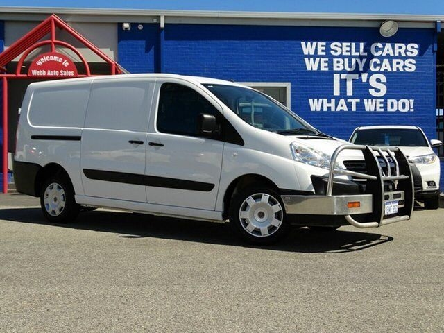 15a25b8813b07c 2014 Fiat Scudo Low Roof LWB White 6 Speed Manual Van