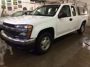 2008 Chevrolet Colorado LS with tool and ladder rack. AUCTION!