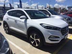 2016 Hyundai Tucson TLE Elite 2WD Polar White 6 Speed Sports Automatic Wagon