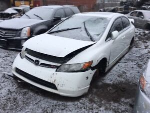 2008 Honda Civic Si just in for parts at Pic N Save!