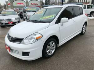 2012 Nissan Versa 1.8 SL SPORT AUTO BLUETOOTH ROOF..ONLY $5995.