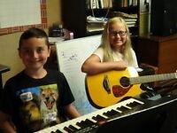 Guitar -  private lessons in Kelowna