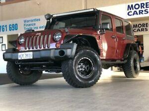 2008 Jeep Wrangler JK Unlimited Sport Softtop 4dr Man 6sp 4x4 3.8i [MY08]