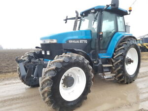 Used New Holland 8770