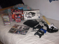 **HUGE BUNDLE** PS3 system, with Move, 22 games & Much more!!!!!