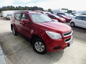 2015 Holden Colorado 7 RG MY16 LT (4x4) Red 6 Speed Automatic Wagon Devonport Devonport Area Preview