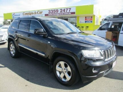 2012 Jeep Grand Cherokee WK MY2012 Laredo Black 5 Speed Sports Automatic Wagon Kedron Brisbane North East Preview