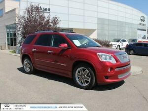 2012 GMC Acadia DENALI/ALL WHEEL DRIVE/HEATED AND COOLED SEATS