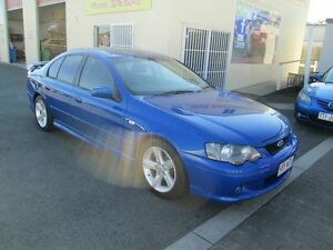 2005 Ford Falcon BF XR6 Blue 4 Speed Auto Seq Sportshift Sedan Coopers Plains Brisbane South West Preview