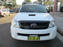 2010 Toyota Hilux KUN16R MY10 SR White 5 Speed Manual 4D UTILITY Croydon Burwood Area Preview