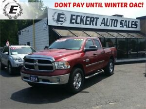2014 Ram 1500 ST QUAD CAB 4X4 WITH RUNNING BOARDS
