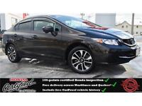 2014 Honda Civic EX, Backup Camera, Heated Seat, One Owner !