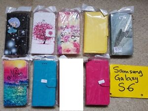 Samsung  Galaxy  S6, S6 Edge and S6 Edge Plus Leather Flip Cases