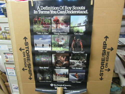 A Definition of Boy Scouts In Terms You Can Understand Poster     ptr2