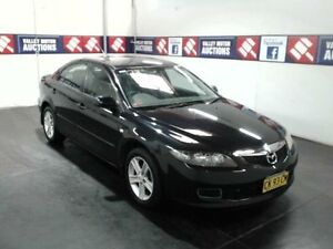 2006 Mazda 6 GG 05 Upgrade Classic Black 6 Speed Manual Hatchback Cardiff Lake Macquarie Area Preview