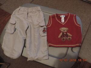 Boy's Size 6-9months Vest & Pants