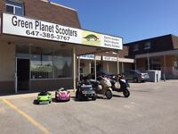 SCOOTER STORE GRAND OPENING IN NEWMARKET