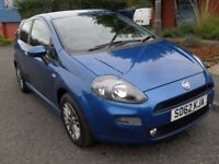 FIAT PUNTO 1.4 GBT 3d 77 BHP IMMACULATE CONDITION (blue) 2012