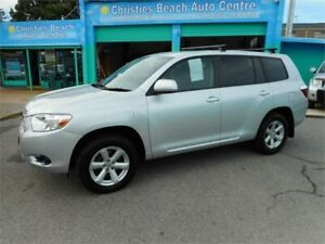 2009 Toyota Kluger GSU40R KX-R (FWD) 5 Seat Silver 5 Speed Automatic Wagon Christies Beach Morphett Vale Area Preview