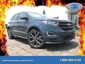 2016 Ford Edge Sport, Moonroof, Navigation, One Owner!!!