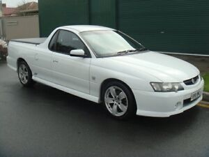 2003 Holden Ute VY II SS White 4 Speed Automatic Utility Hampstead Gardens Port Adelaide Area Preview