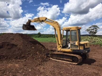 Excavator       Kubota 5 -6 ton Excavator