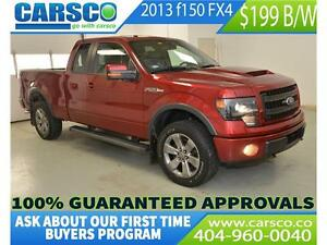 2013 Ford F-150 FX4  LEATHER LOADED $199 BI-WEEKLY