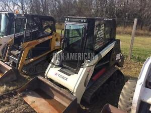 2011 TEREX PT30 SKID STEER TRACK LOADER, STRONGER THAN BOBCAT