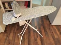 Phillips iron and ironing board