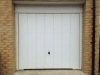 Pair of Hormann Garage doors