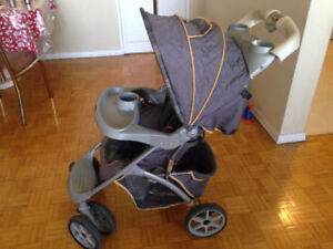Large and Small Strollers with weather shield