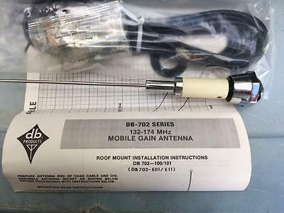 Decibel Products Inc. Db702-e01 132-174 Mhz 2.5 Db Gain Vhf Antenna With Pl259