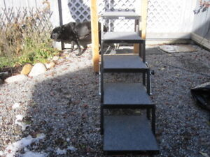 Pet Loader Steps and Dog Ramp