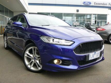 2017 Ford Mondeo MD 2017.50MY Titanium PwrShift Deep Impact Blue 6 Speed