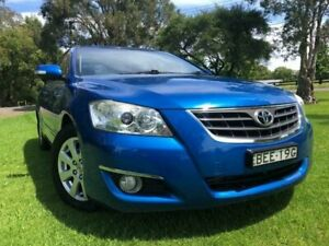 2007 Toyota Aurion GSV40R Touring SE Blue 6 Speed Auto Sequential Sedan Tuggerah Wyong Area Preview
