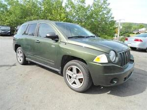 2008 JEEP COMPASS 4X4 !!! AUTOMATIC /NEW TIRES/NEW MVI!!!