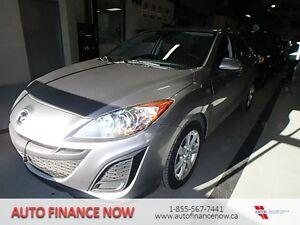 2011 Mazda Mazda3 GX 4dr Sedan BUY HERE PAY HERE CLEAN INSPECTED
