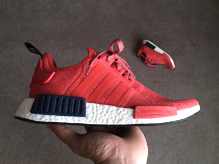 NMD R1 Red Black