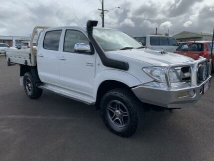 2010 Toyota Hilux KUN26R MY10 SR5 Glacier White 5 Speed Manual Utility Atherton Tablelands Preview