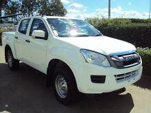 2014 Isuzu D-MAX MY14 SX Crew Cab Alpine White 5 Speed Sports Automatic Utility Acacia Ridge Brisbane South West Preview