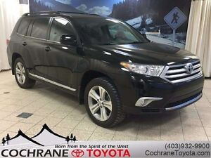 2013 Toyota Highlander Sport - w/LEATHER SEATS, SUNROOF & ACCIDE